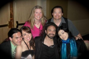 Extending the family:  Erik & Toko (Shiiki) on right, Nathan & Kristen (Shaw) top, and Jason & Jill (Trzcinski) left