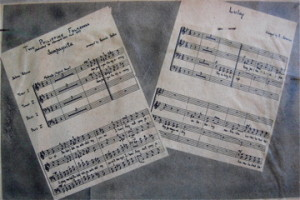 Two Folk Songs published by the Harvard Glee Club