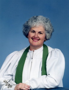 Rev. Harriet L. Santos in 1995