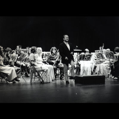 Conducting the Wilkes College Wind Ensemble