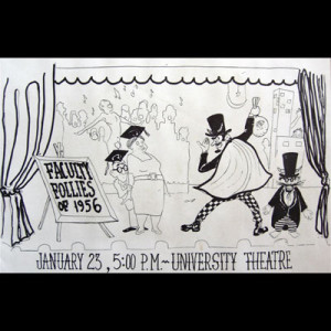 """The Faculty Follies"" Jan. 23, 1956"