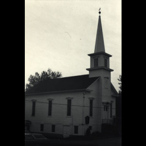 Huntsville UM Church, Pennsylvania--wife Harriet's first position as ordained minister.  Rosendo was organist/choir director.