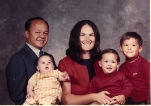The Santos Family in 1972